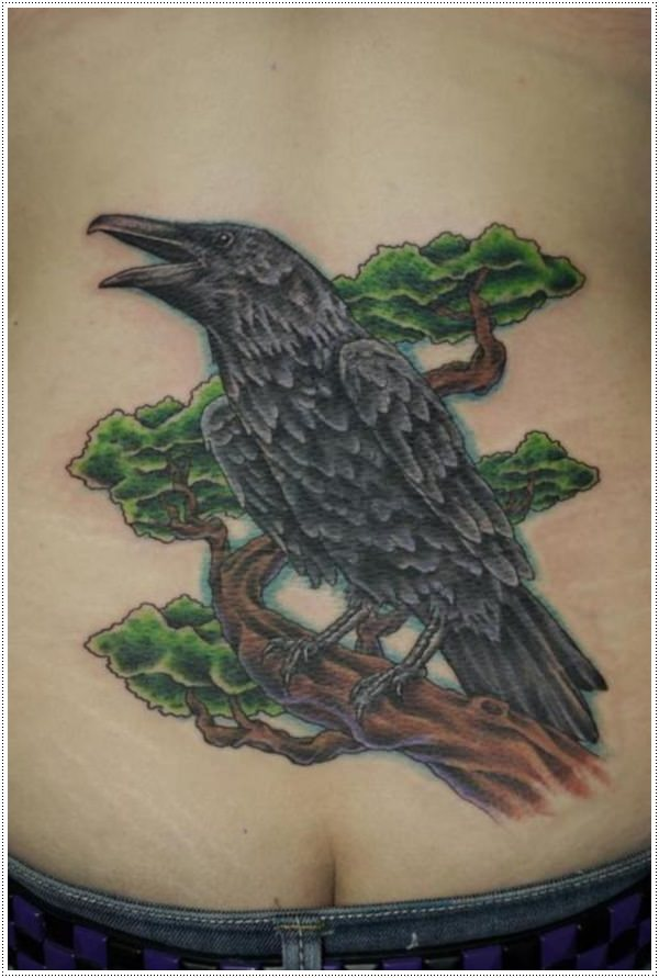 Raven-Tattoos-Designs