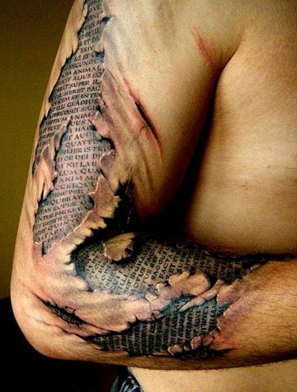 Ripped Skin Tattoos (1)