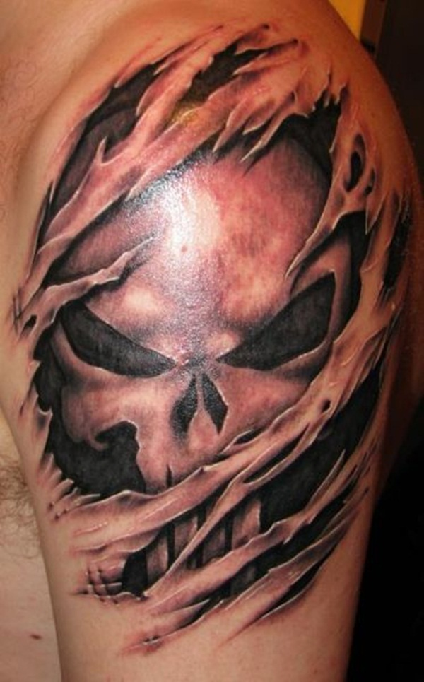 Ripped Skin Tattoos (4)