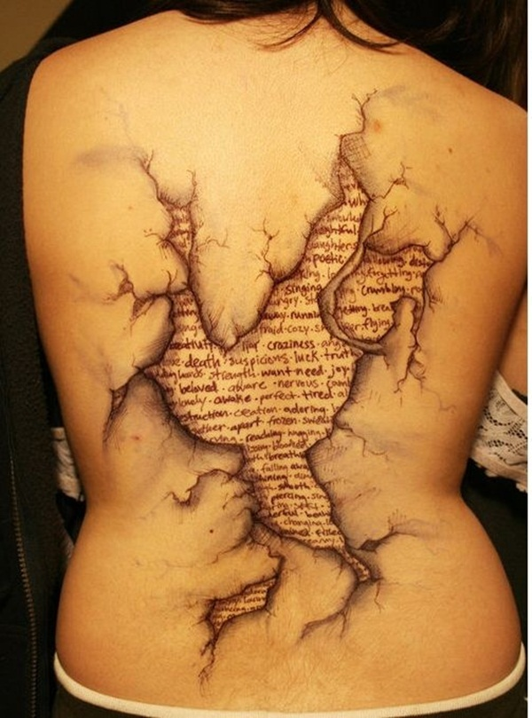 Ripped Skin Tattoos (40)