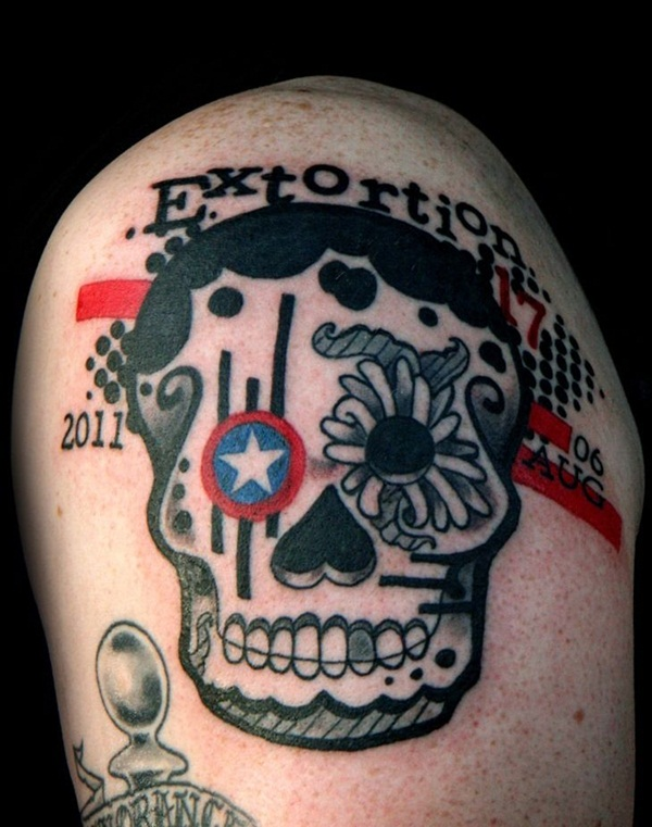 Sugar Skull Tattoo Meaning (15)