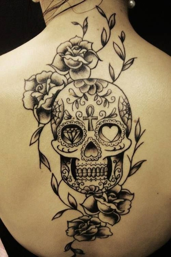 Sugar Skull Tattoo Meaning (18)