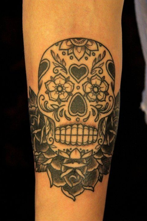 Sugar Skull Tattoo Meaning (20)