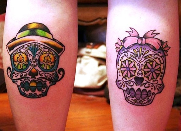 Sugar Skull Tattoo Meaning (26)