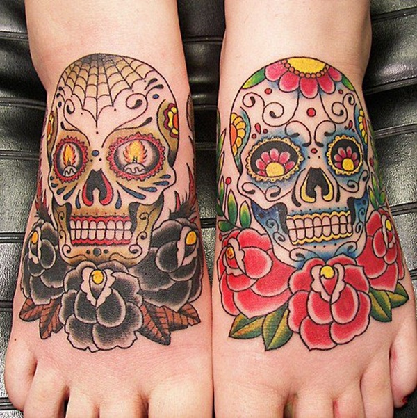 Sugar Skull Tattoo Meaning (27)