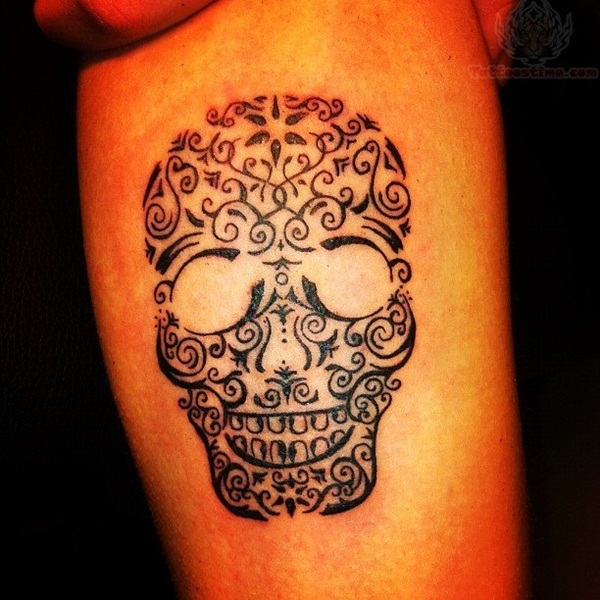 Sugar Skull Tattoo Meaning (32)