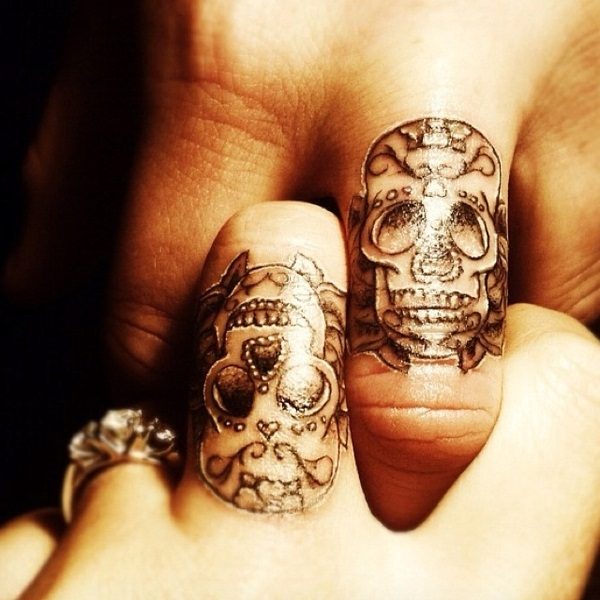 Sugar Skull Tattoo Meaning (33)