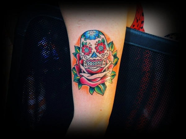 Sugar Skull Tattoo Meaning (34)