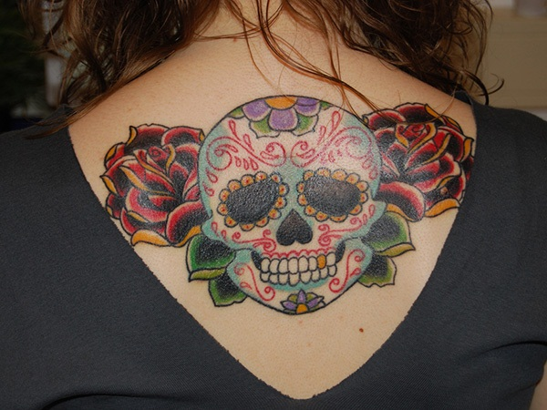 Sugar Skull Tattoo Meaning (7)