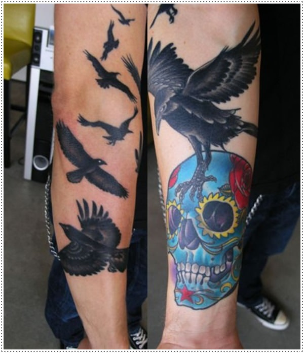 the-skull-and-raven-tattoo-meaning-and-design