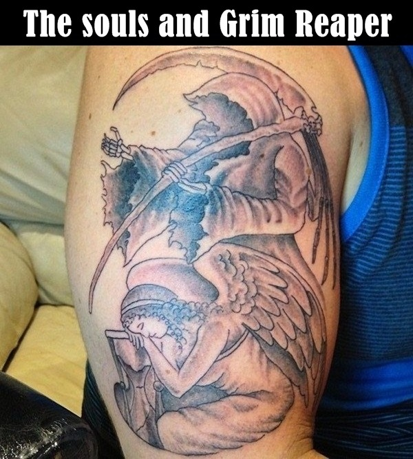 4-The souls and Grim Reaper