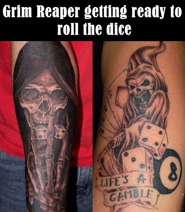 6.2-Grim Reaper getting ready to roll the dice