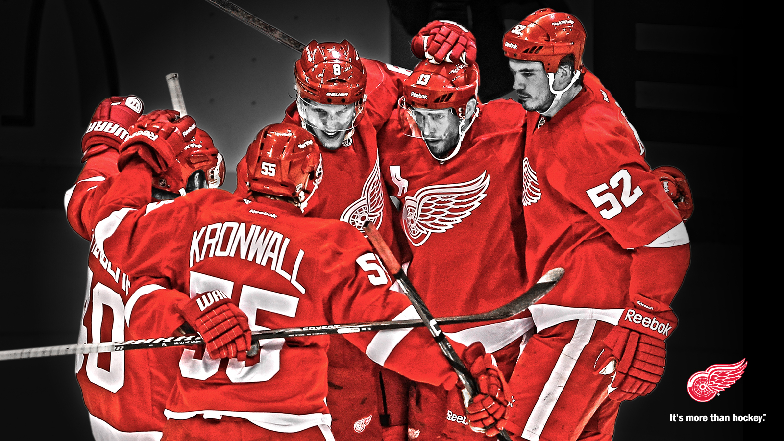 45 Free Detroit Red Wings Wallpaper Designs Trivia