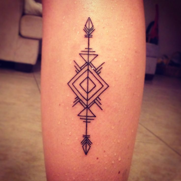 Arrows geometry tattoos