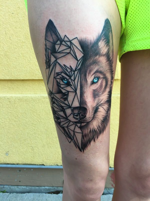 Geometric Tattoo 5