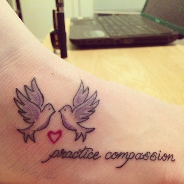 dove tattoos 10