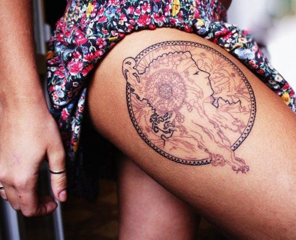 brown ink tattoo (24)