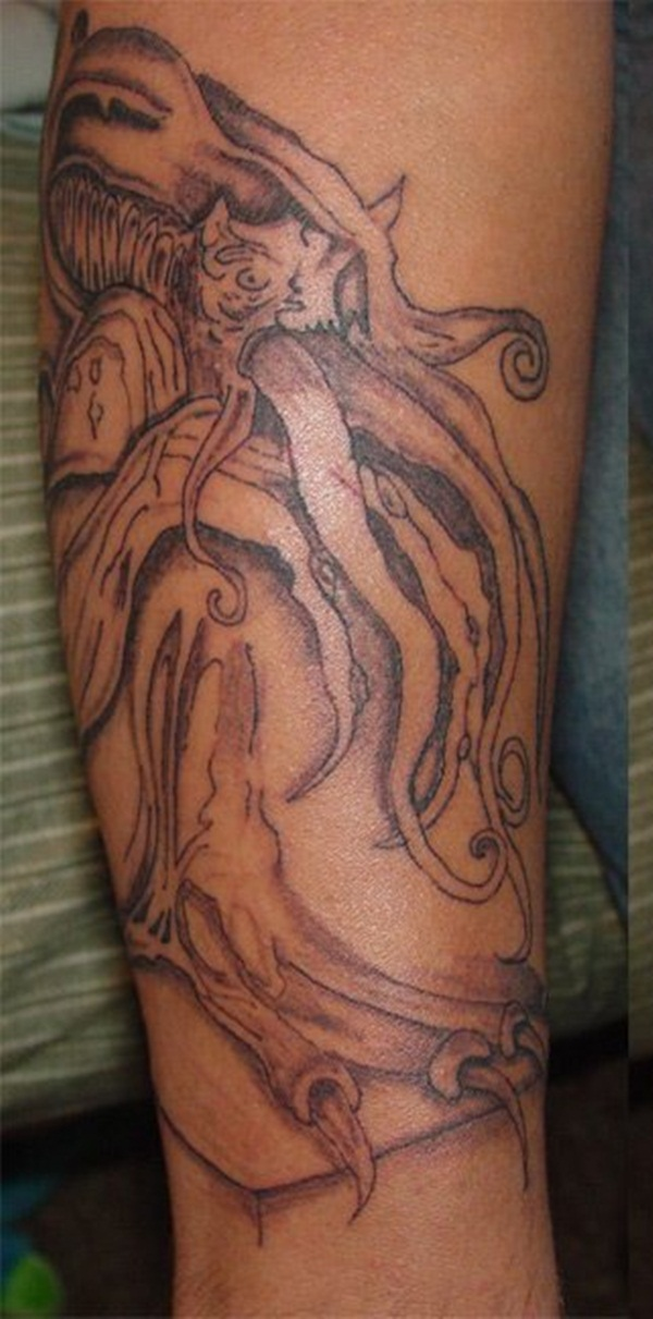 brown ink tattoo (28)