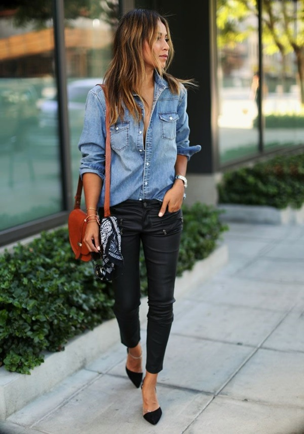 Leather Pants Outfits Ideas (10)