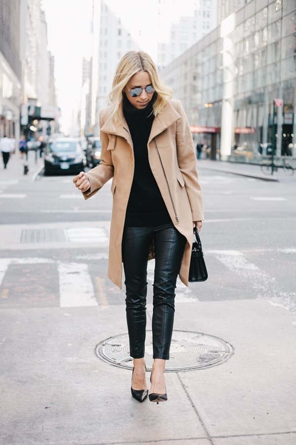 Leather Pants Outfits Ideas (15)