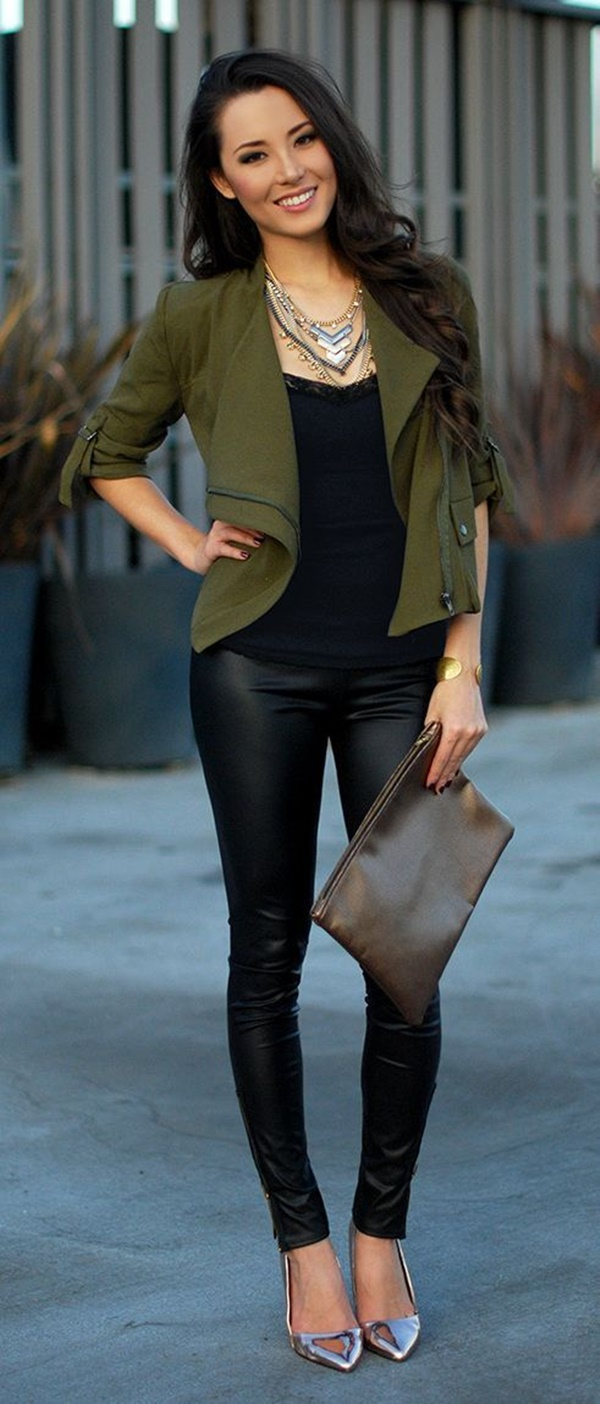 Leather Pants Outfits Ideas (24)