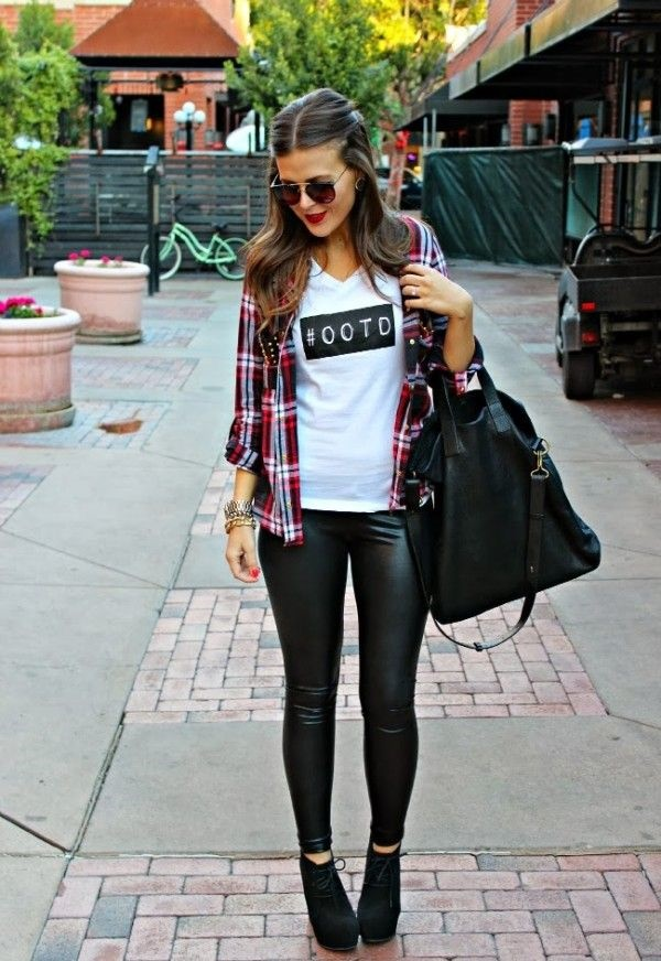 Leather Pants Outfits Ideas (30)