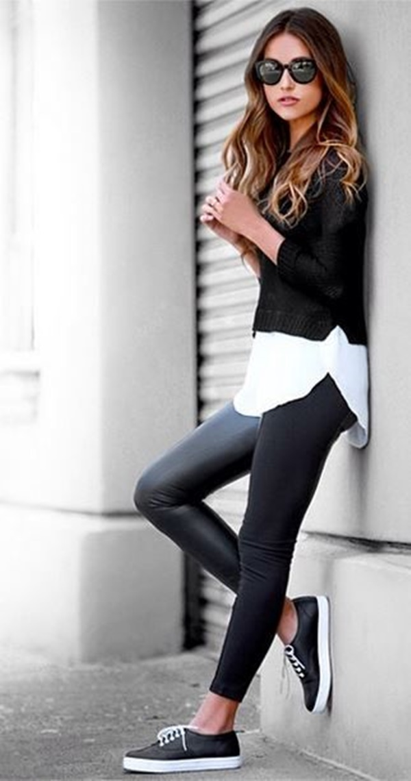 Leather Pants Outfits Ideas (31)