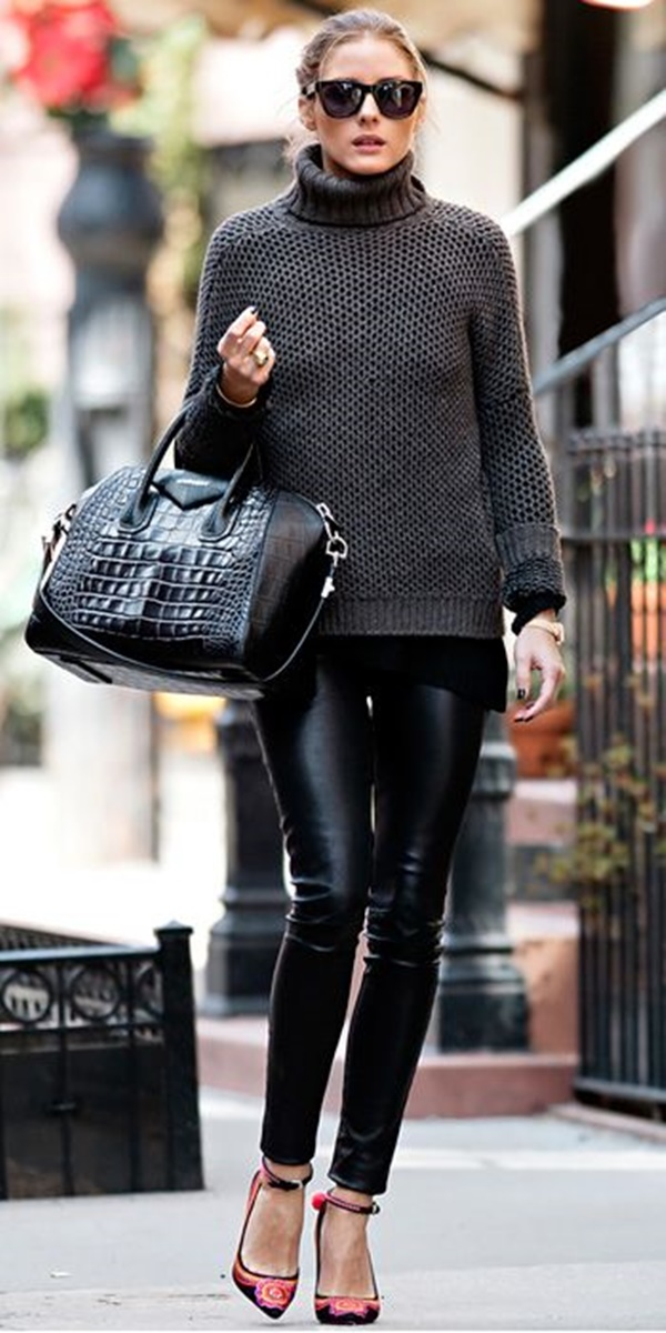 Leather Pants Outfits Ideas (33)