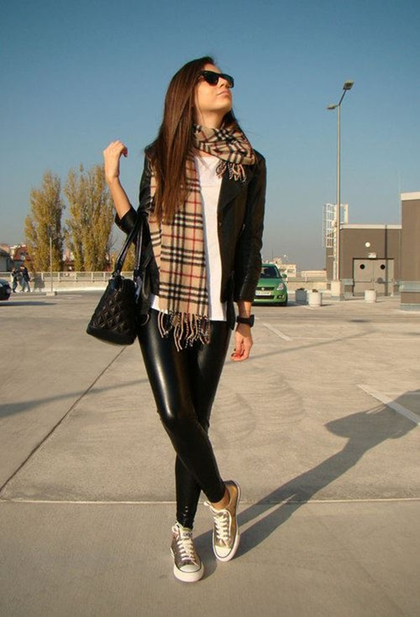 Leather Pants Outfits Ideas (34)