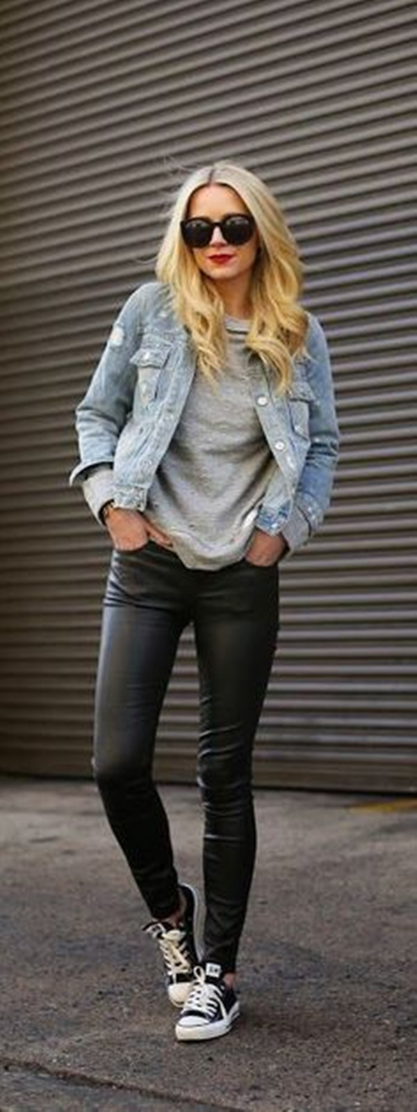 Leather Pants Outfits Ideas (37)