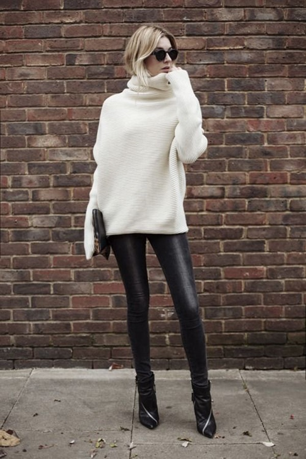 Leather Pants Outfits Ideas (38)