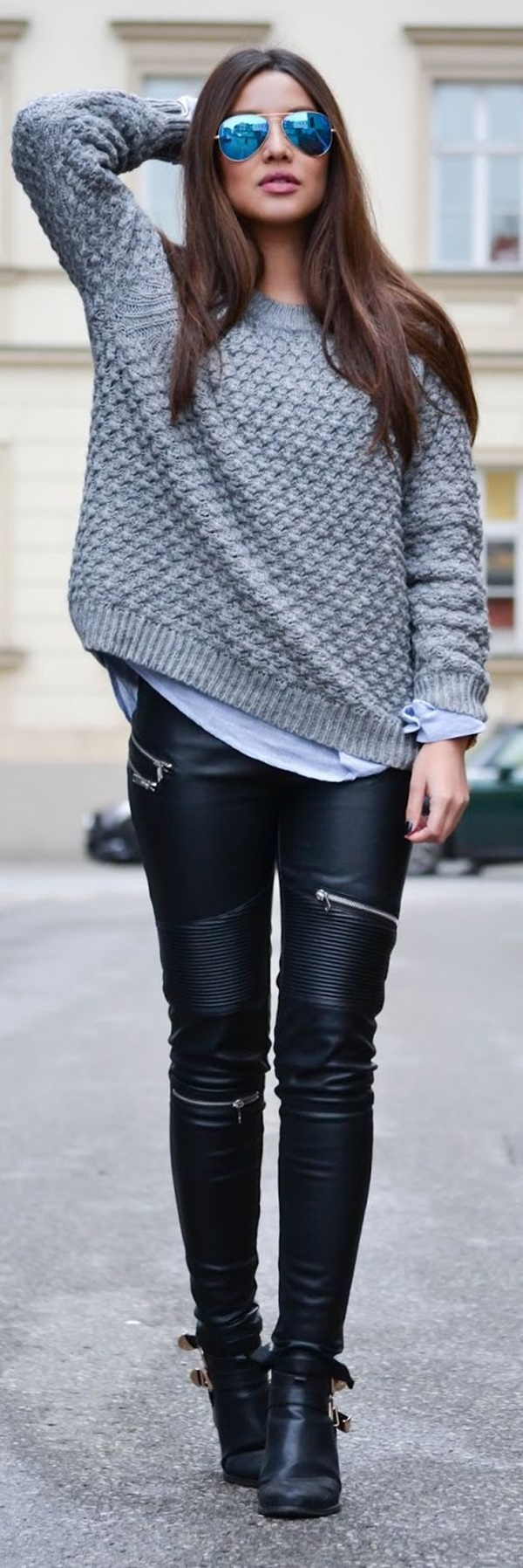 Leather Pants Outfits Ideas (4)