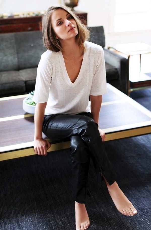 Leather Pants Outfits Ideas (47)