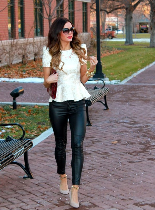 Leather Pants Outfits Ideas (51)