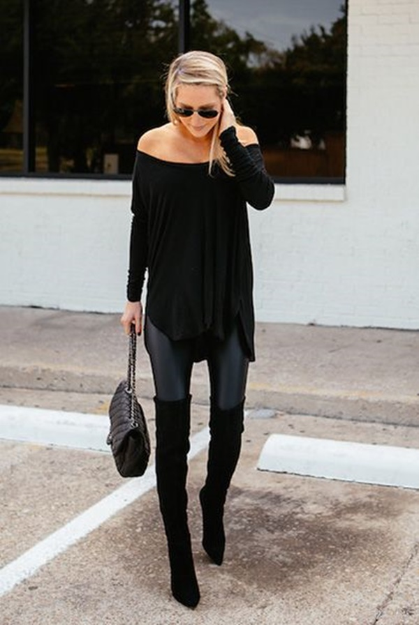 Leather Pants Outfits Ideas (57)