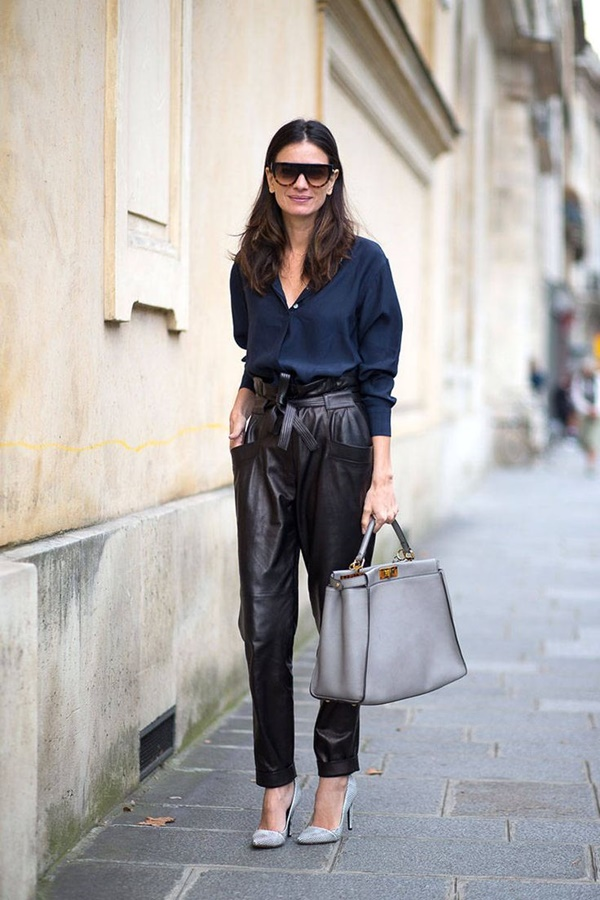 Leather Pants Outfits Ideas (75)