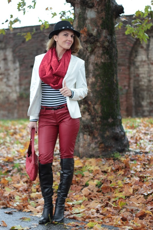Leather Pants Outfits Ideas (79)