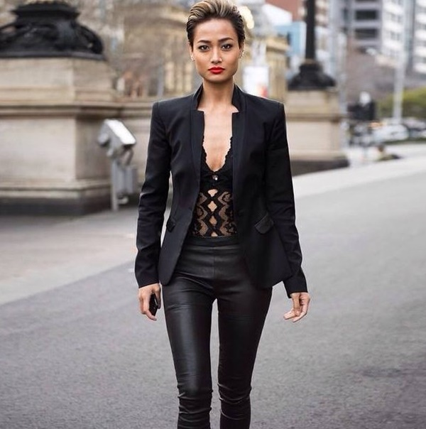Leather Pants Outfits Ideas (82)