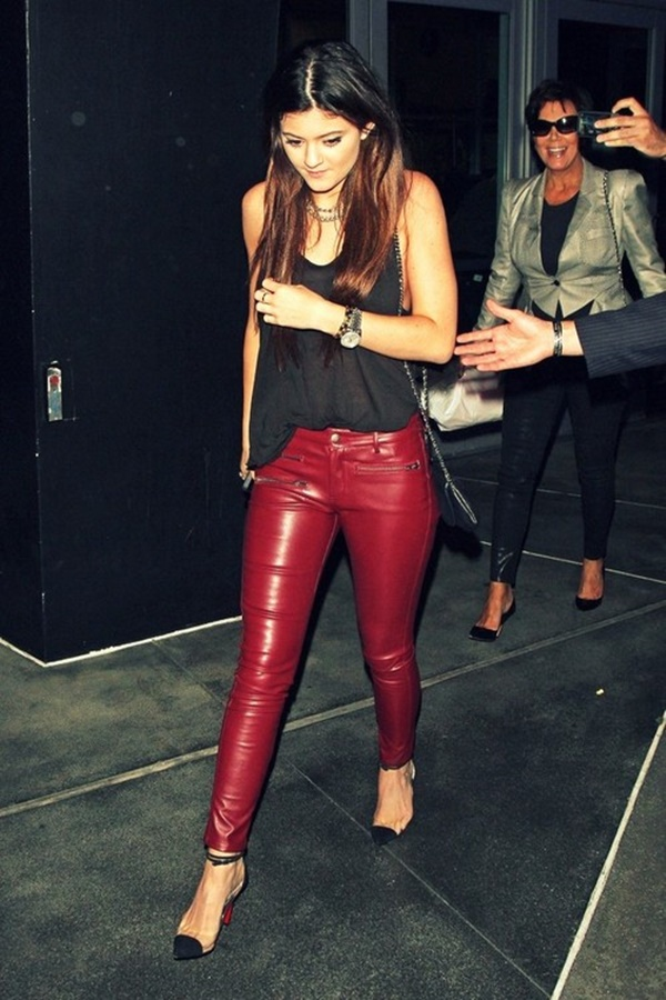 Leather Pants Outfits Ideas (86)