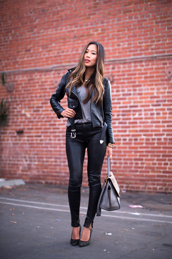 Leather Pants Outfits Ideas (87)
