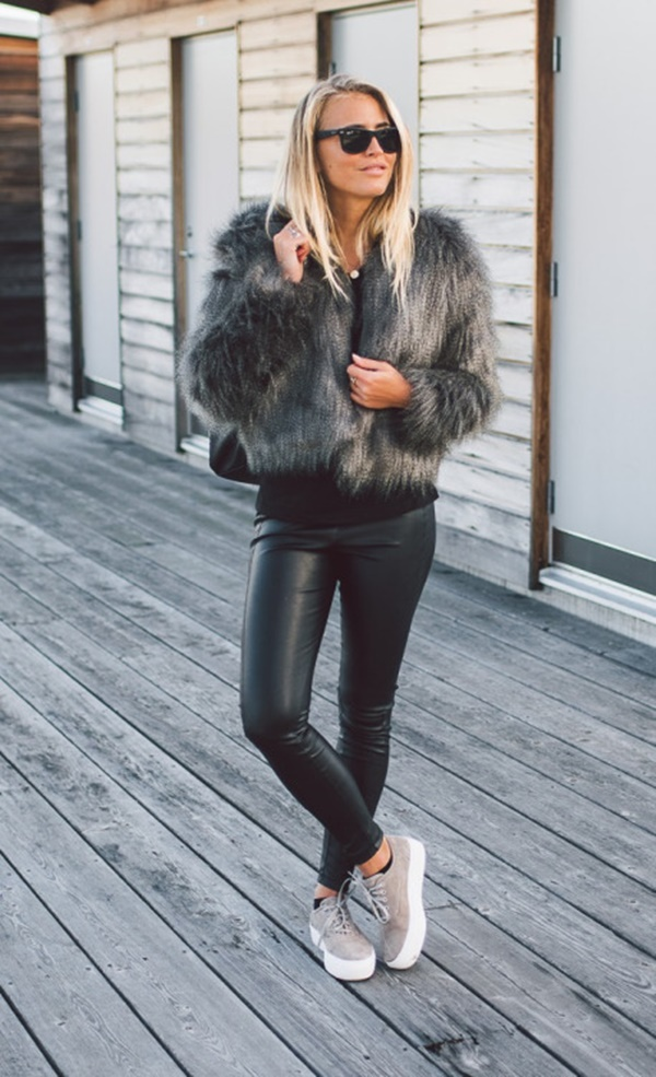 Leather Pants Outfits Ideas (99)