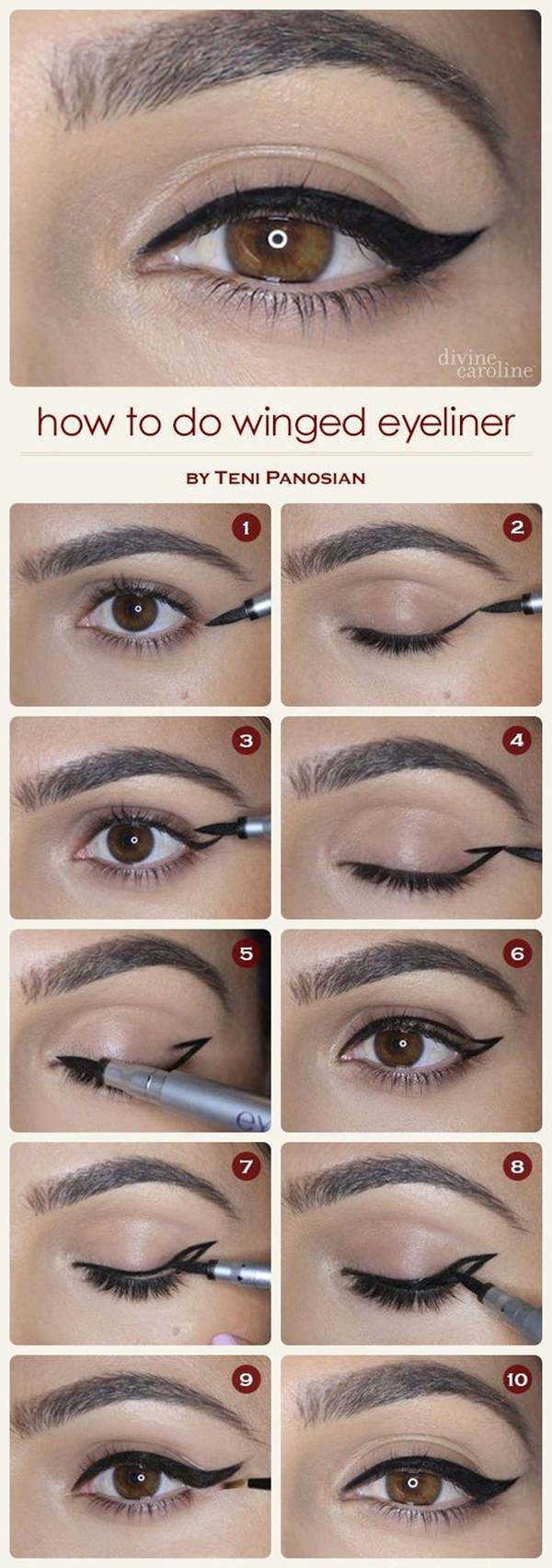 7b5d15226e2 35 Winged Eyeliner Styles, Tutorial & Tricks!