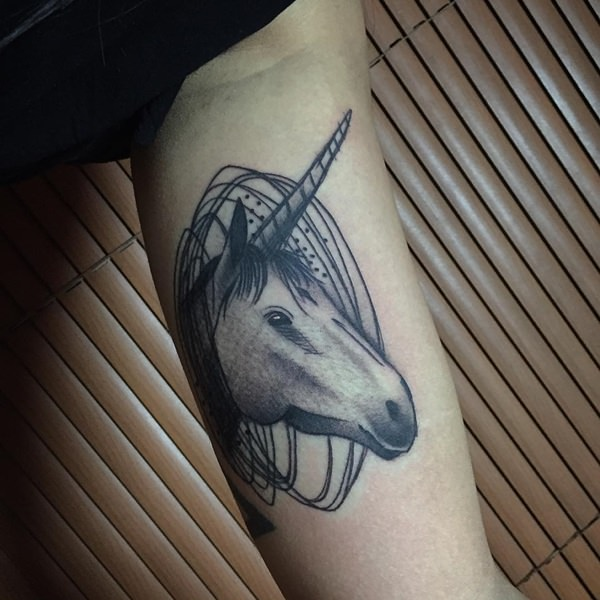 c548994a2 55 Photos of Enchanting Unicorn Tattoo Artwork