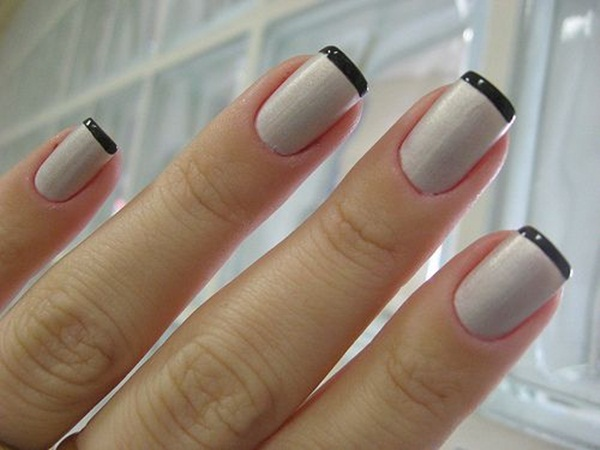 Most Attractive black and white nail art designs (27)