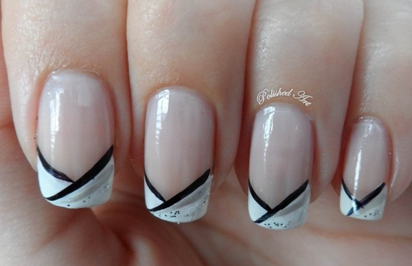 black and white french tip nail designs art design gallery nail Nail Art French Tip 1490 X 961 - nail art designs 2016