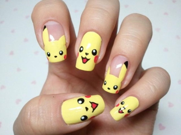 cartoon nail arts0011