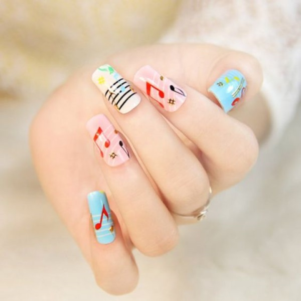 cartoon nail arts0021