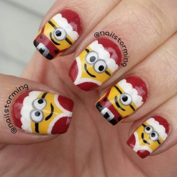 cartoon nail arts0051