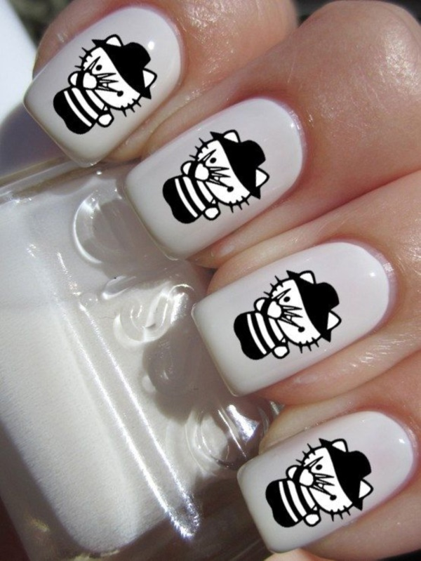 cartoon nail arts0111