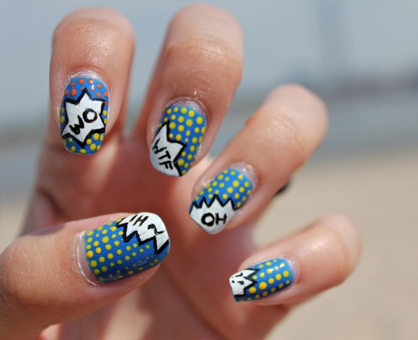 cartoon nail arts0131